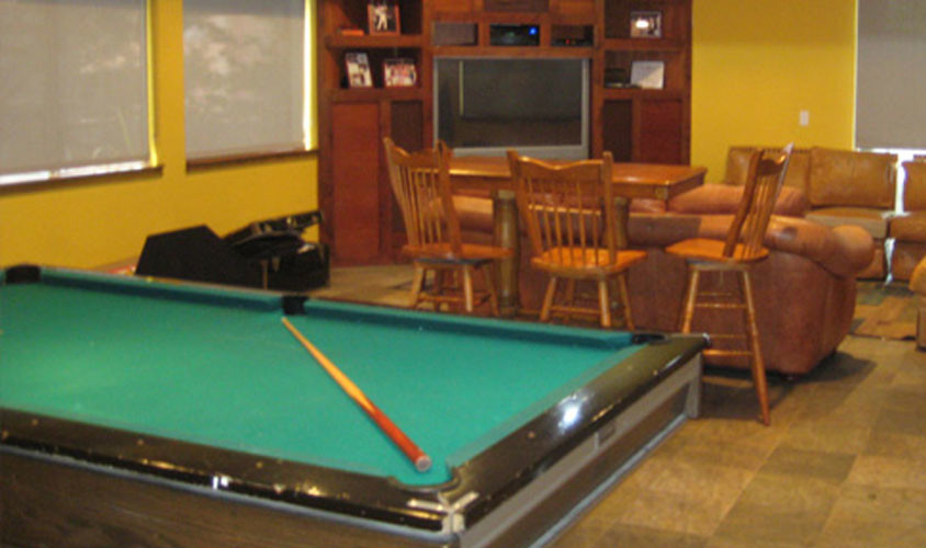 House Pool Table